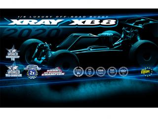 XRAY XB8 2020 Car