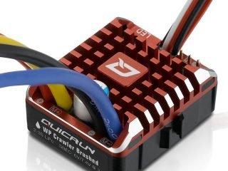 QUICRUN WP 1080 brushed ESC (2-3S) for Rock Crawler